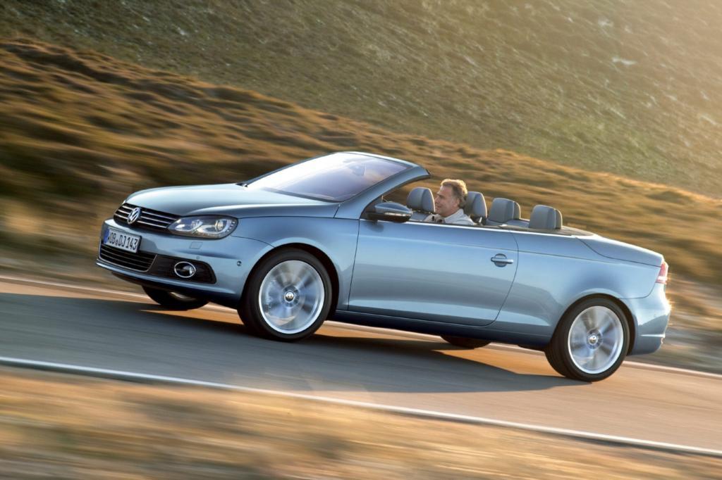 Der Eos ist das erste Stahldach-Cabrio von VW