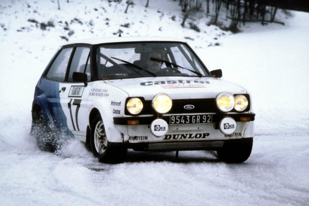 Der Fiesta fuhr auch im Motorsport Erfolge ein