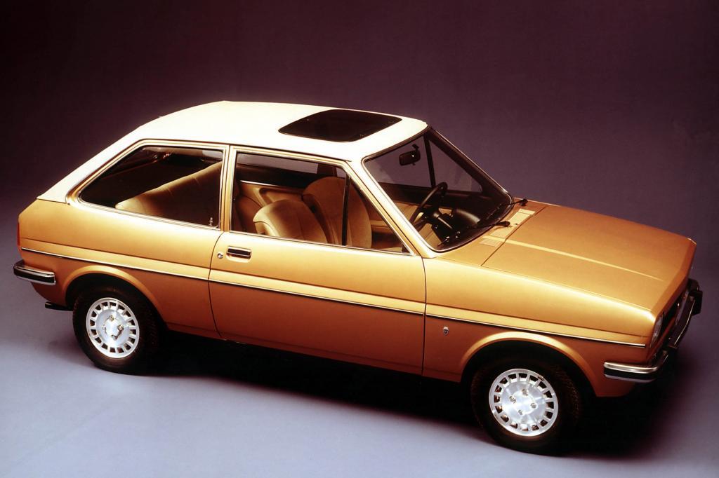 Der Ford Fiesta in der Top-Version Ghia