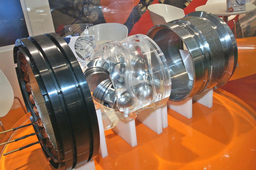 Der Hüttlin-Range-Extender vereint E- und Verbrennungsmotor