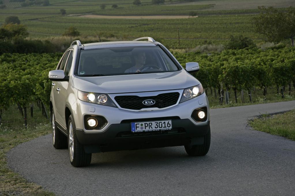 Der Kia Sorento dient als Flottenfahrzeug für Manager.