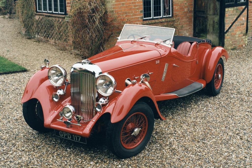 Der Lagonda Rapide war eines der letzten Modelle der Marke.