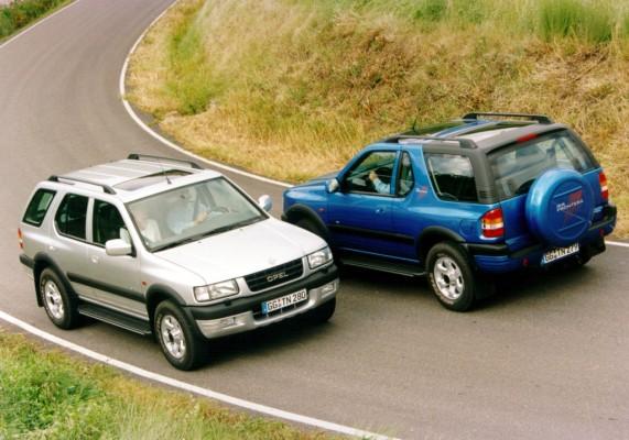 Der Opel Frontera wird 20 Jahre alt