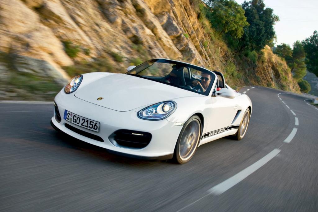Der Porsche Boxster Spyder ist ein Purist