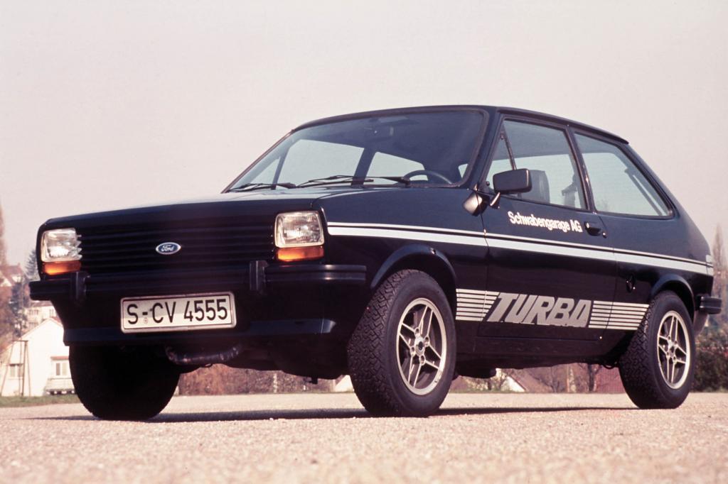 Der Prototyp des Fiesta Turbo von 1977
