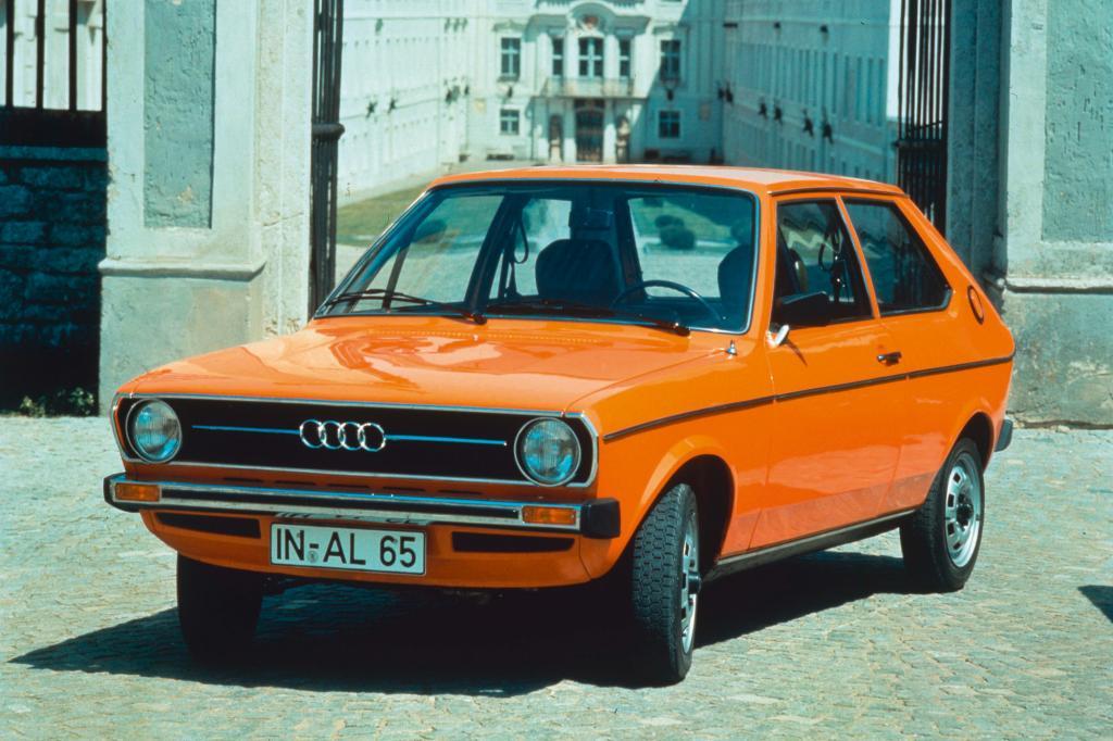 Der Siegeszug des modernen Kleinwagens mit Frontantrieb kam auch durch  den Audi 50