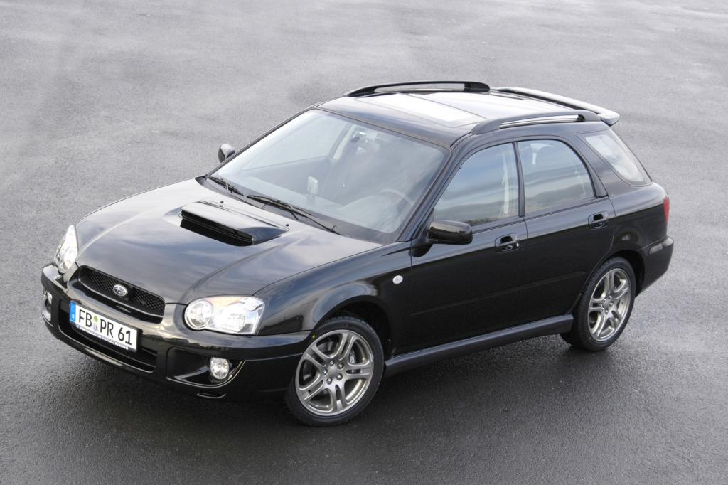 Der Subaru Impreza WRX Sportkombi 2003