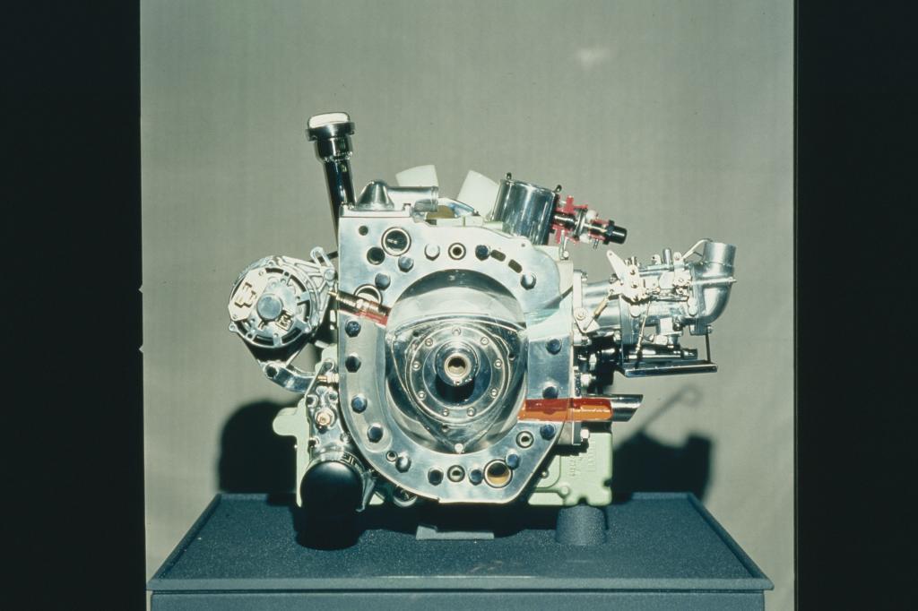 Der Wankelmotor 1970