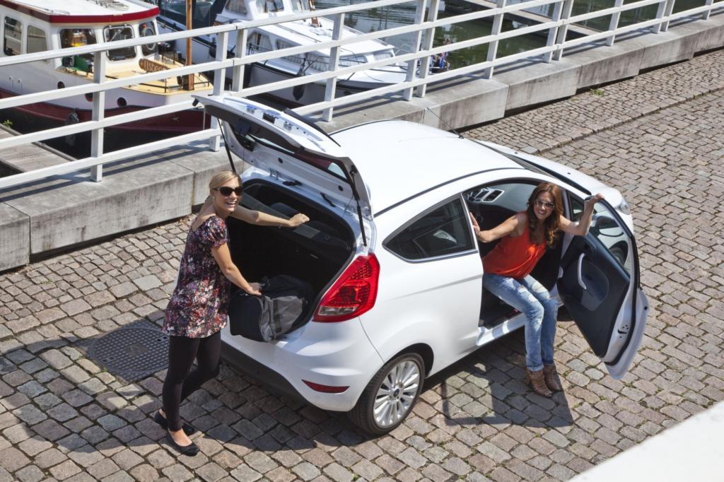 Der aktuelle Ford Fiesta setzt auf dynamische Formen