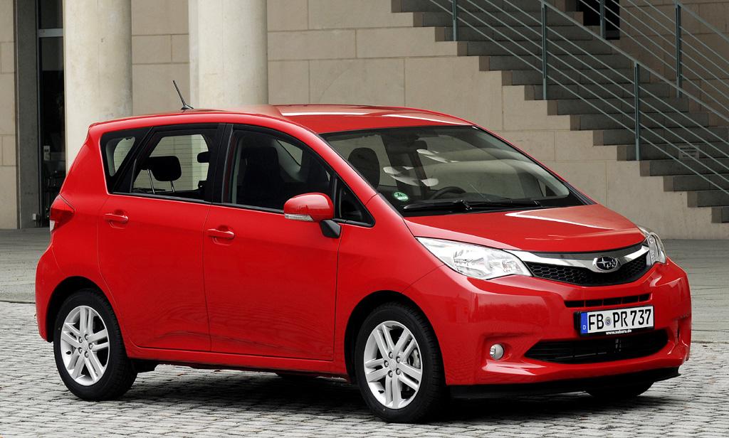 Der neue Subaru Trezia ist baugleich mit dem neuen Toyota Verso-S.