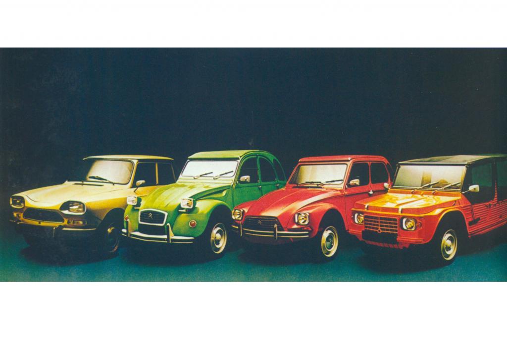 Die Citroen-Familie 1976
