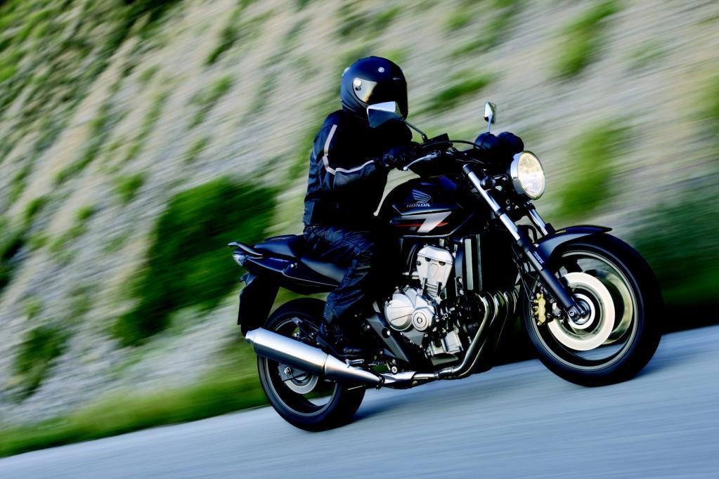 Die Honda CBF 600 rangiert in der Zulassungsstatistik weit oben.