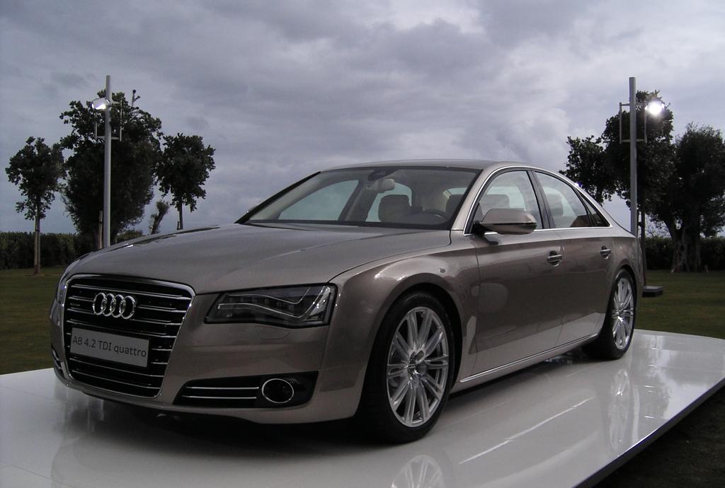Die leichteste Luxuslimousine im Segment: Audi A8. Fotos: Koch/Audi