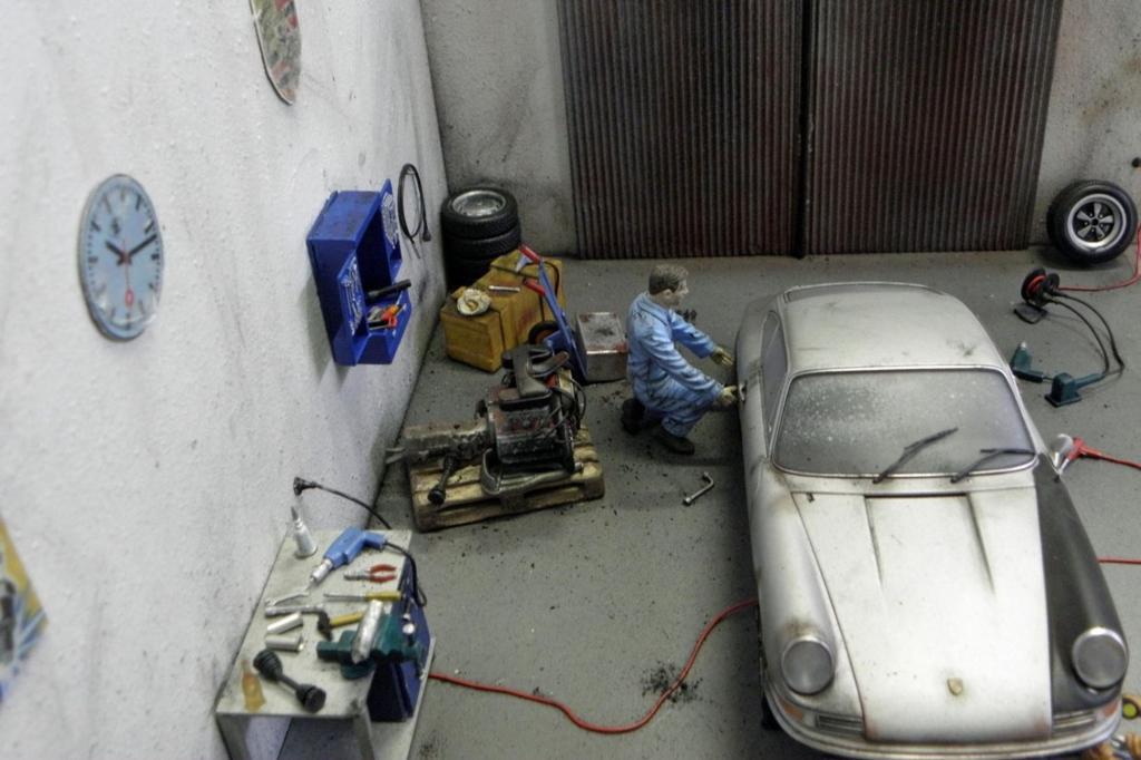 Dieser Porsche erhält gerade einen neuen Motor