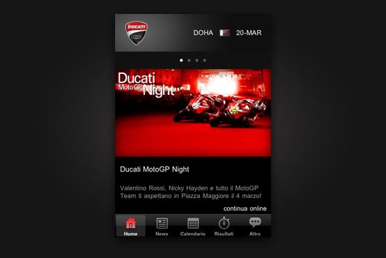 Ducati bietet MotoGP-App an
