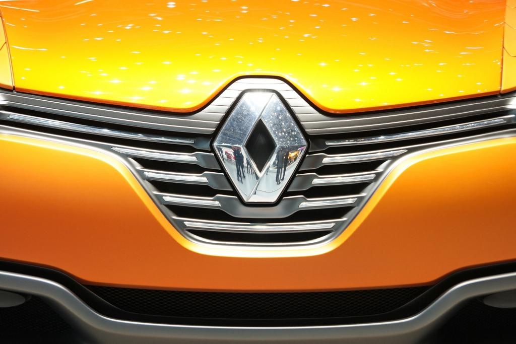 Eine Mischung aus Coupe, Roadster und SUV zeigt Renault mit der Studie Captur.