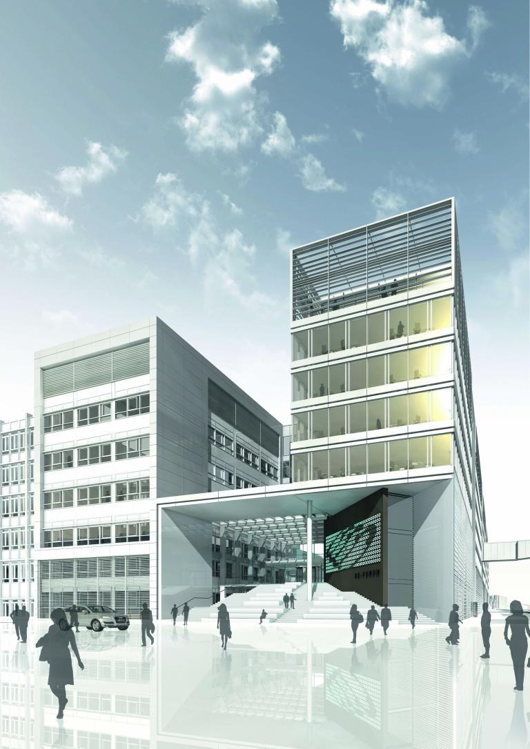 Erster Bauabschnitt des Audi-Rechenzentrums fertiggestellt