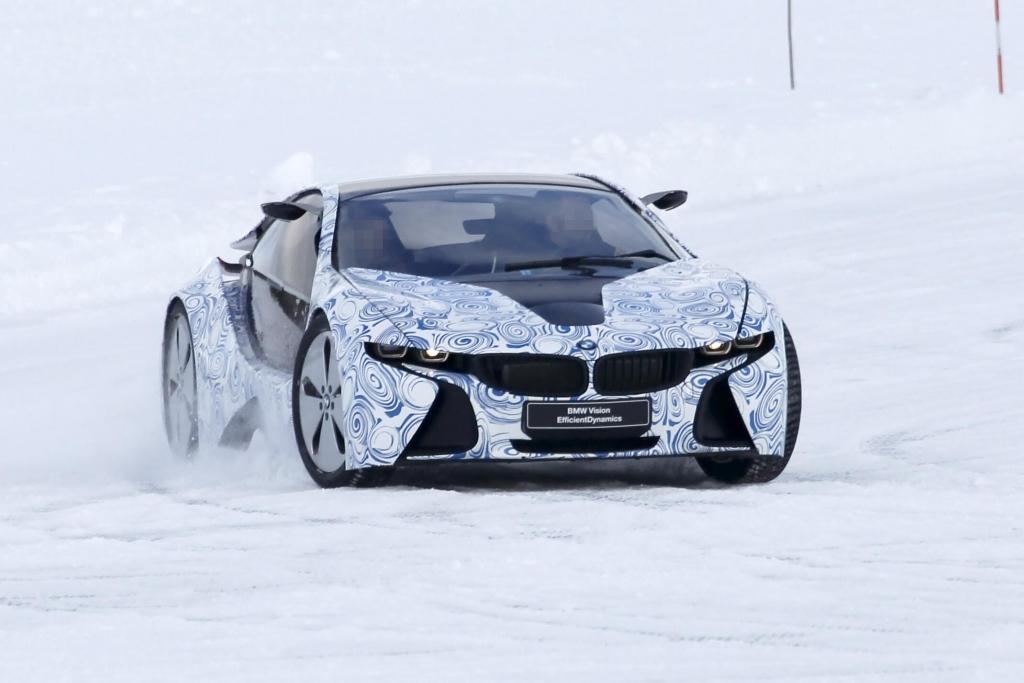 Erwischt: Erlkönig BMW i8 – Elektrischer Supersportler