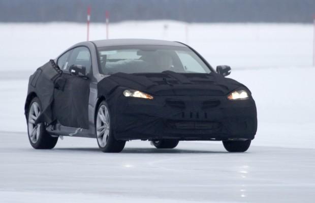 Erwischt: Erlkönig Hyundai Genesis Coupé Facelift – Neues Gesicht mit Power