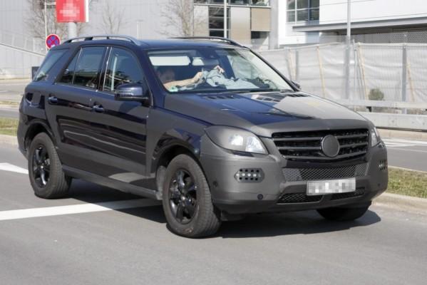Erwischt: Erlkönig Mercedes ML – Offroader geht in die zweite Runde