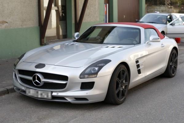 Erwischt: Erlkönig Mercedes SLS Cabrio - Gestutztes Rennwerkzeug