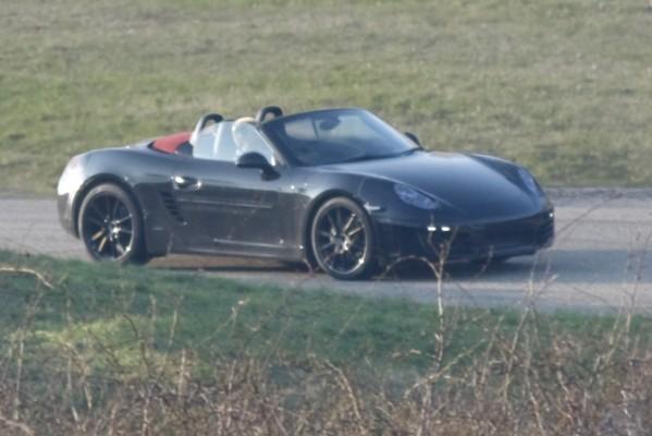Erwischt: Erlkönig Porsche Boxster