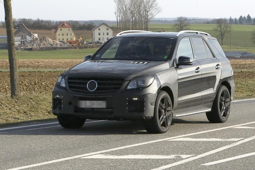 Erwischt: Mercedes ML 63 AMG - Zu schnell fürs Gelände