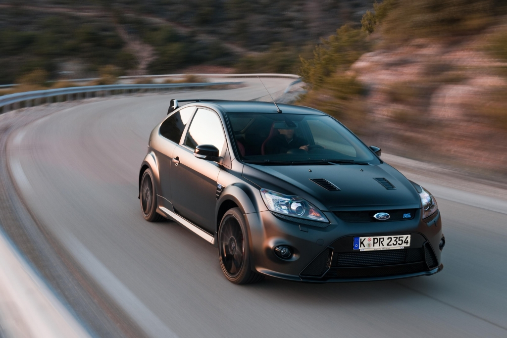 Ford Focus RS500: 350 PS-Bolide als Jubiläumsmodell übergeben