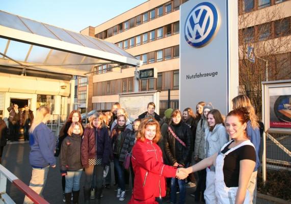 Frauen-Aktionstag bei Volkswagen Nutzfahrzeuge