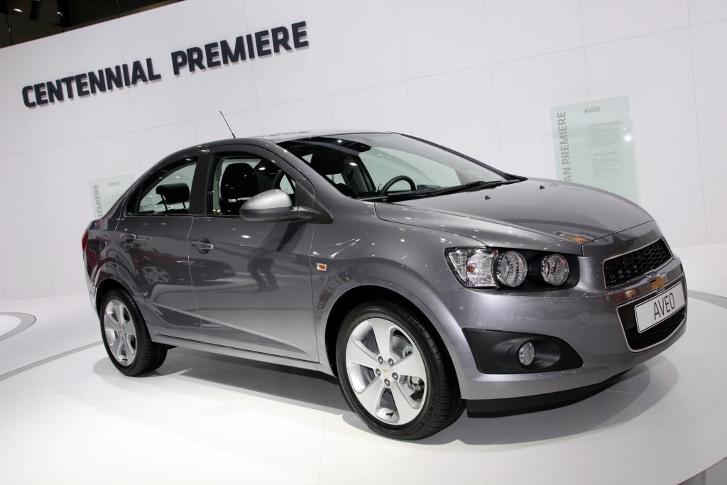 Genf 2011: Chevrolet zeigt den Aveo als Stufenheck für die Familie