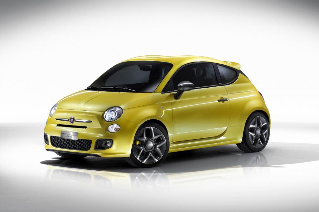 Genf 2011: Fiat 500 Coupé Zagato: Gelbes Schmuckstück