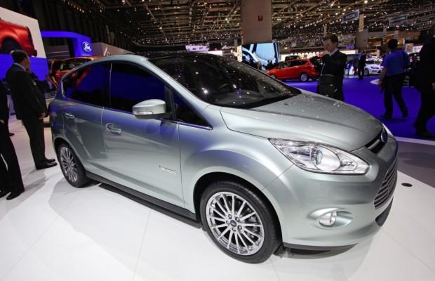 Genf 2011: Ford C-Max Energi  feiert Europapremiere