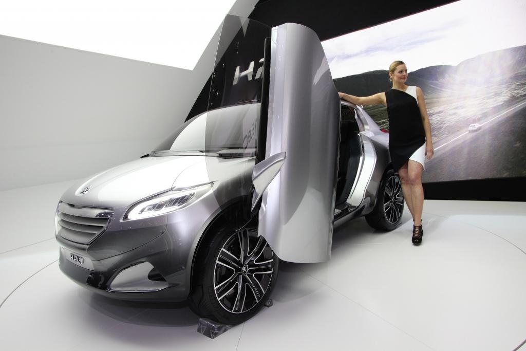 Genf 2011: Peugeot HR1 ist Vorbote einer neuen Autogeneration