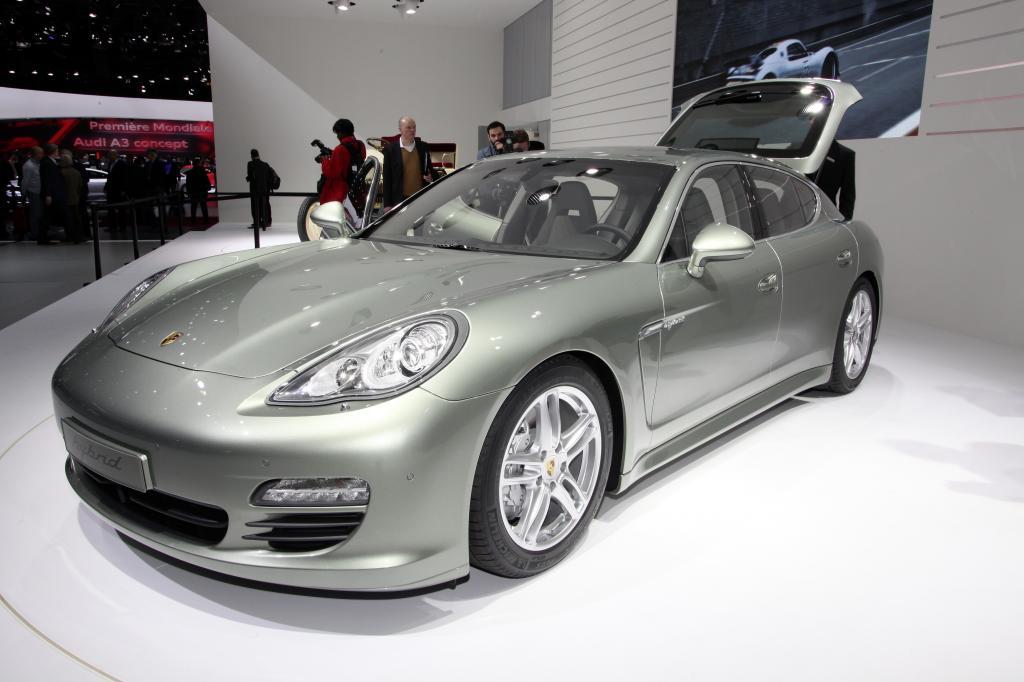 Genf 2011: Porsche Panamera S Hybrid