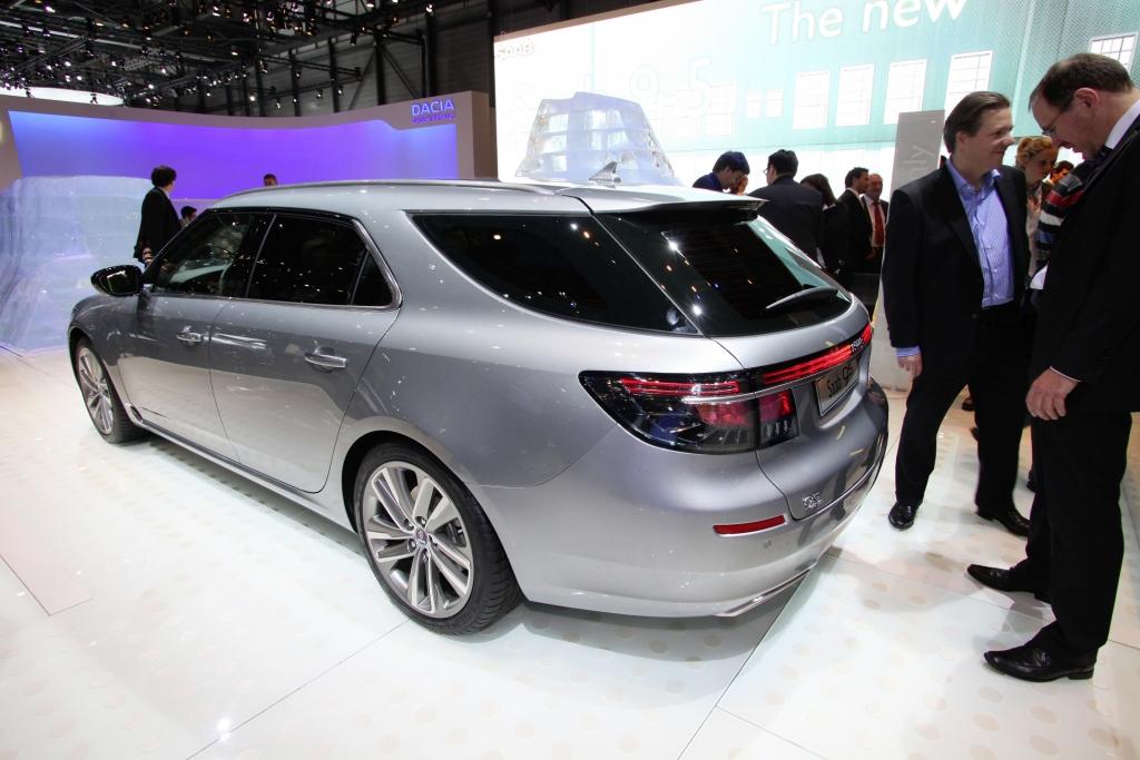 Genf 2011: Saab 9-5 Sport Combi feiert Premiere