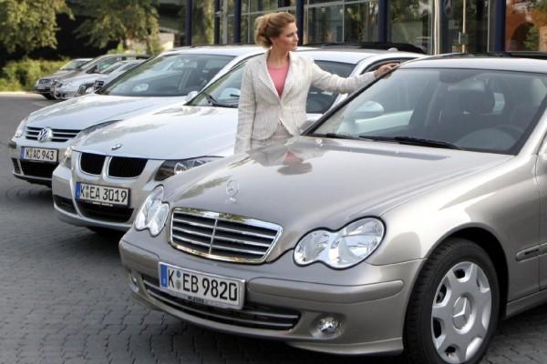 Geschäft mit Gebrauchtwagen boomt