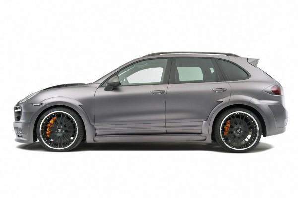 Hamann macht aus dem Porsche Cayenne Turbo den