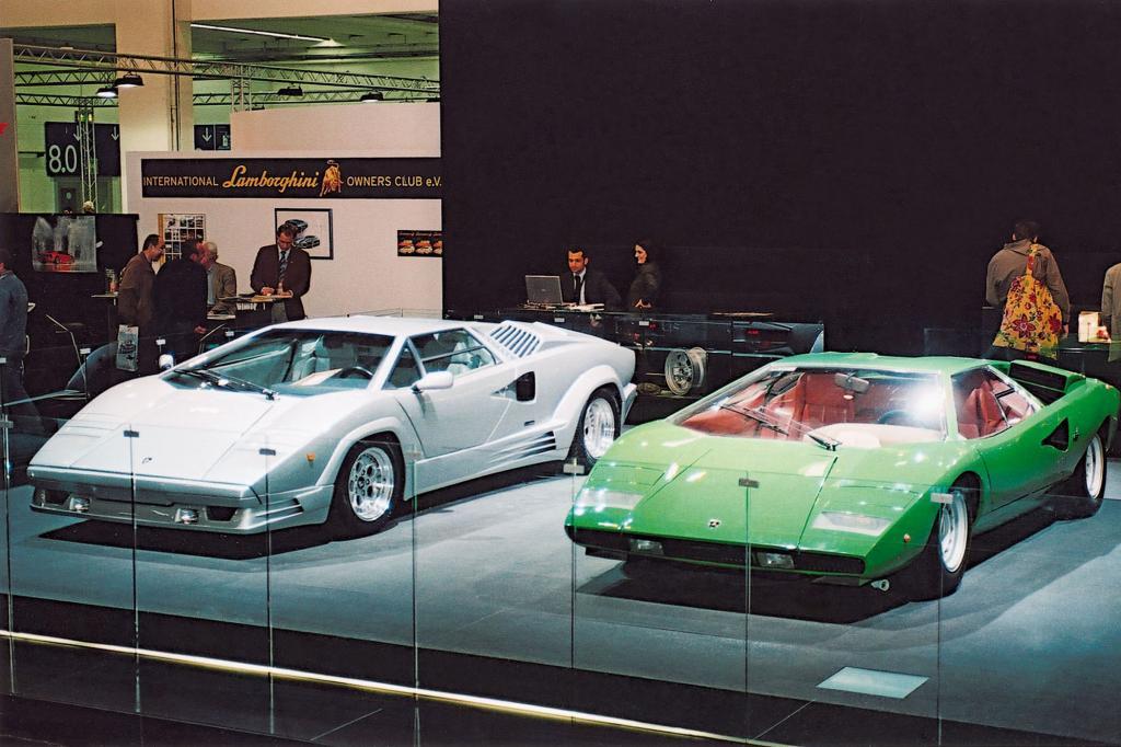 Immer eine Augenweide: zwei Lamborghinis