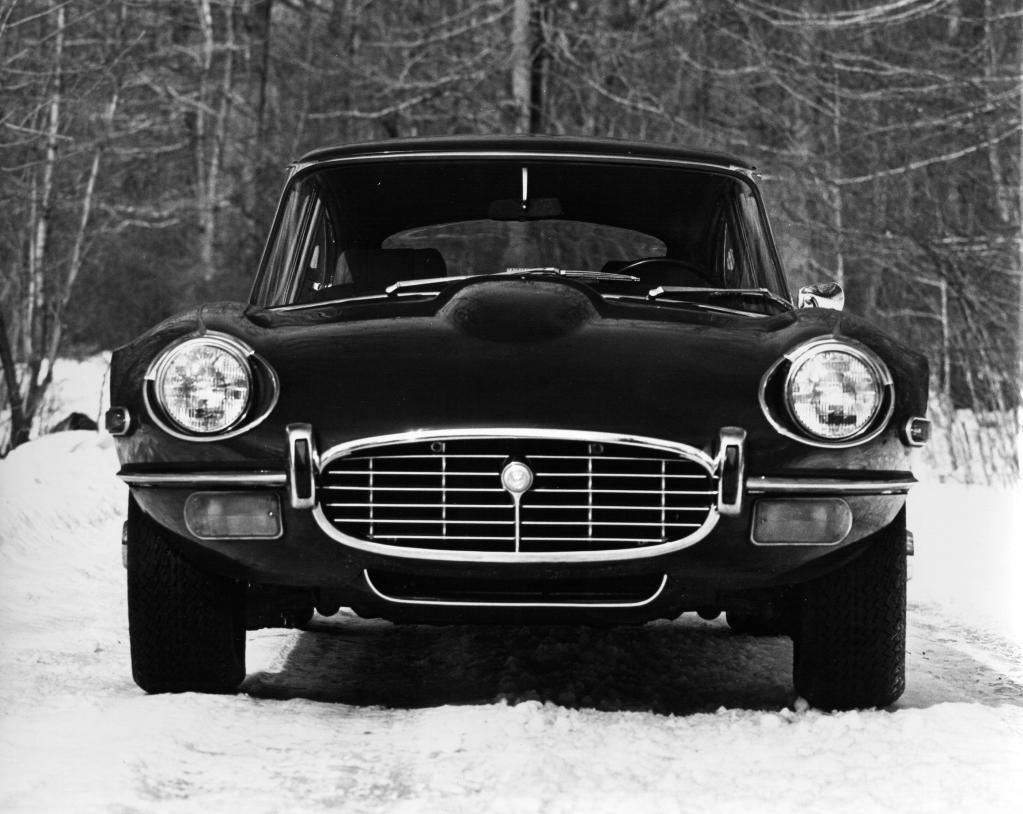 Jaguar E-Type III mit V12-Motor (1971 bis 1974).