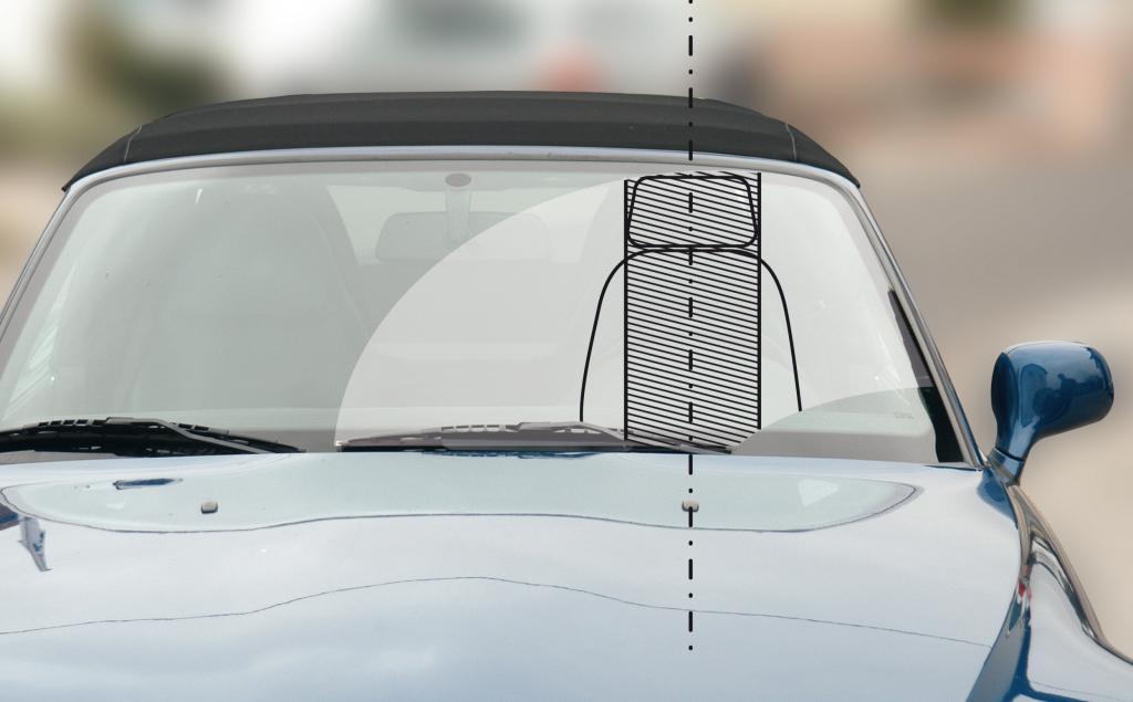 Klare Sicht im Auto: Scheiben-Gravuren sind verboten