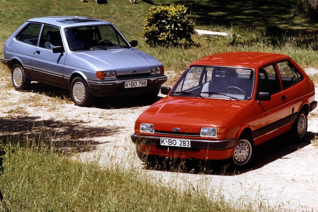 Knapp fünf Millionen mal lief die erste Fiesta-Generation vom Band, immer neue Sondermodelle und eine neue Optik ab Modelljahr 1
