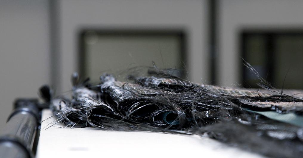 Lamborghini-Leichtbau: Kohlefaser ist ein aktuelles Zauberwort der Branche.
