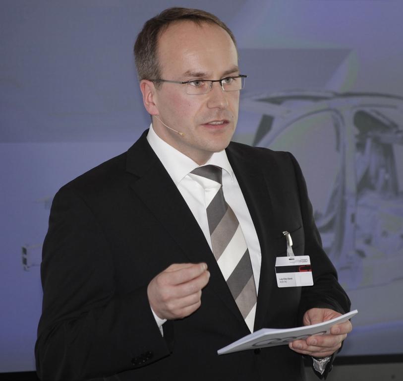 Leitet bei Audi in Neckarsulm das Leichtbau-Zentrum: Dr. Lutz-Eike Elend.