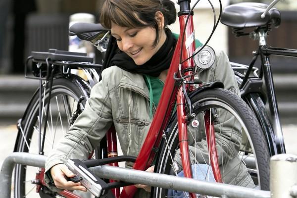 Münsteraner Radfahrer brauchen das dickste Schloss