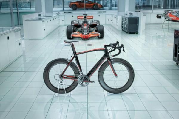 McLaren-Rennrad - Neues aus der Formel-Schmiede