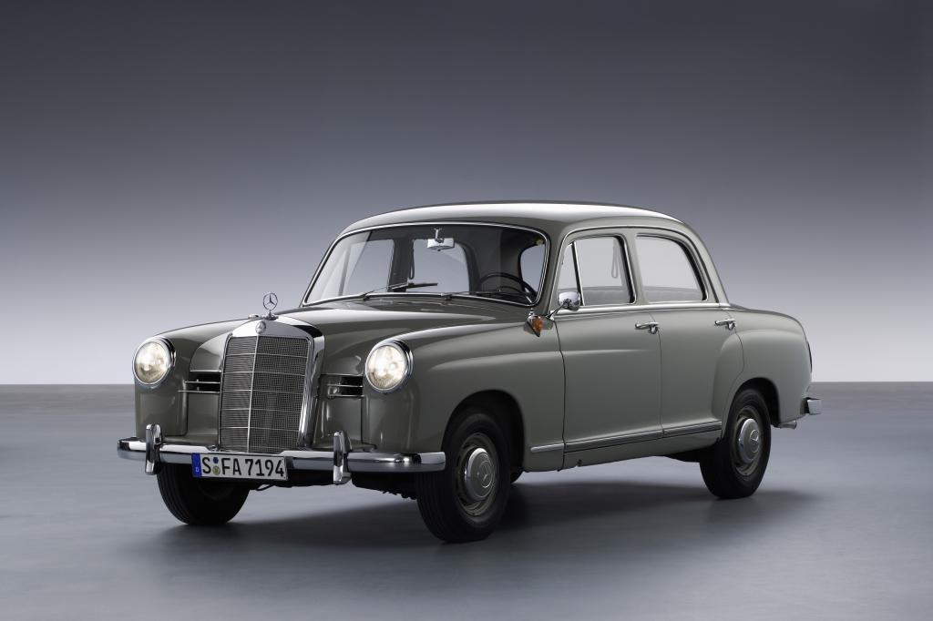 Mercedes-Benz 180 (1953).