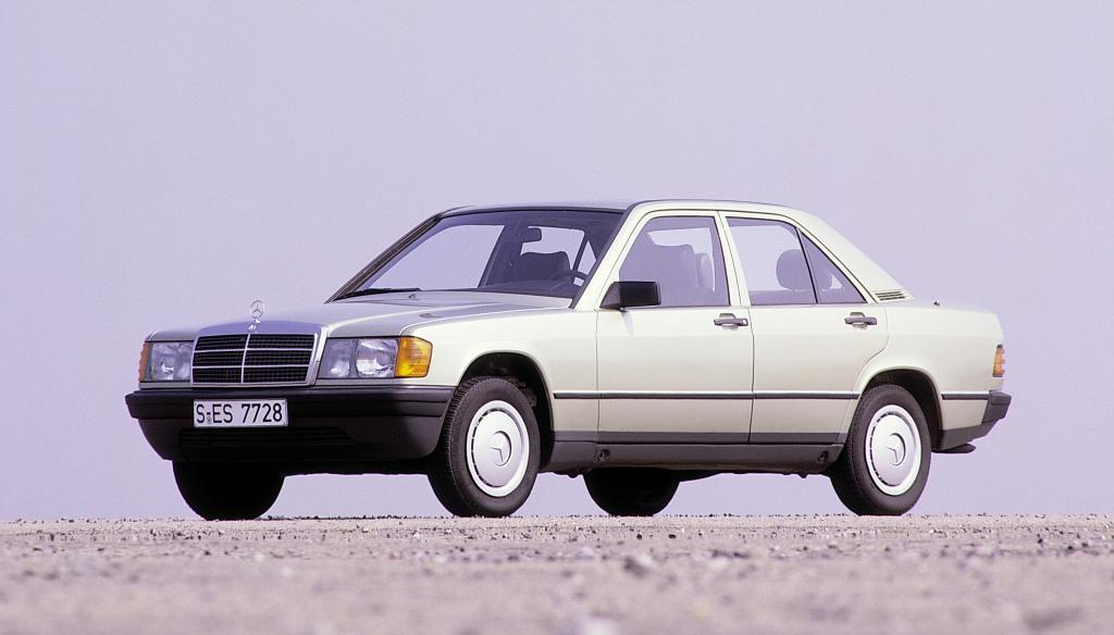 Mercedes-Benz 190 (Baureihe W 201, 1982 bis 1993).