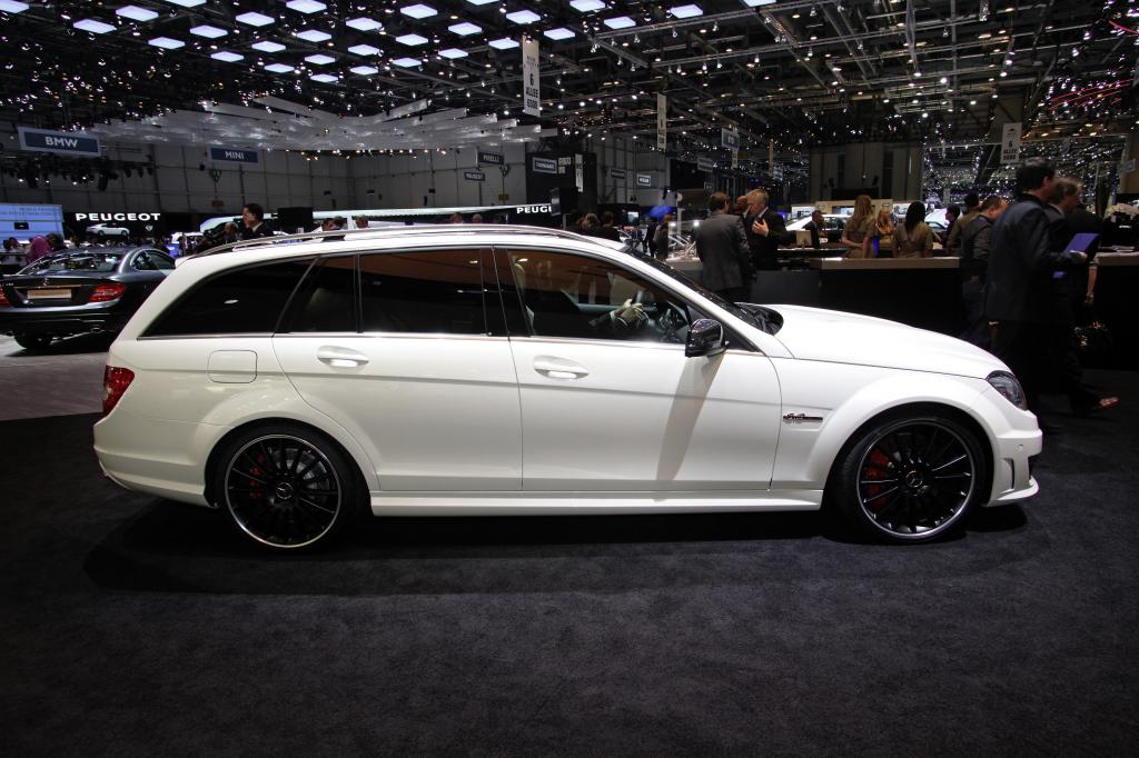 Mercedes-Benz C 63 AMG T-Modell.