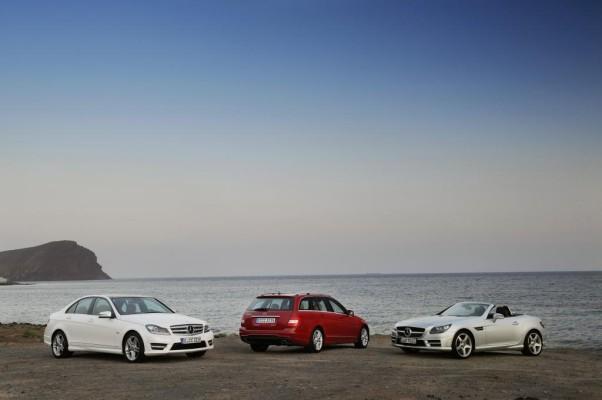 Mercedes-Benz C-Klasse und SLK Roadster kommen in den Handel