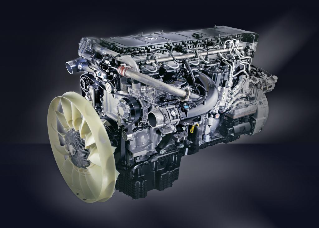 Mercedes-Benz hat in Mannheim mit der Fertigung einer neuen Lkw-Motorengeneration begonnen.